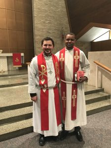 Photo of Rev. Nick Kooi and Rev. Demelash Yoseph