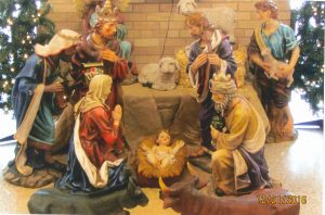 Photo of nativity scene